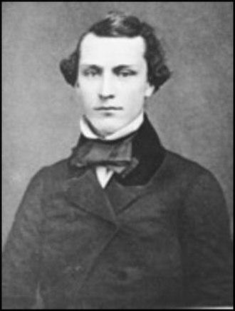 Wistar Institute - Isaac J. Wistar, 1852, San Francisco, California