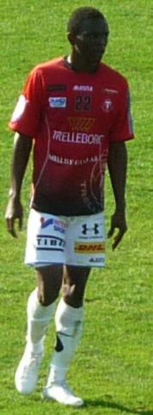Swedish Football Division 2 - The best midfielder of 2010, Ibrahim Koroma, has over 10 caps for the Sierra Leone national football team.
