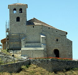 San Bartolomé Church, built in the 12th century.