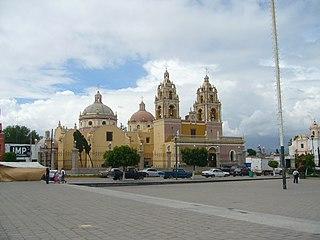Acatzingo Municipality in Puebla, Mexico