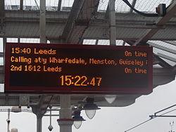 Ilkley railway station, Station Road, Ilkley (11th March 2015) 004.JPG