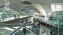Инчхон (аэропорт)-Этап 2-Incheon Airport Train Terminal, Korea