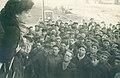 Incontro con i ferrovieri nelle officine di Pietrarsa 1947.jpg