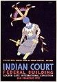 Indian court, Federal Building, Golden Gate International Exposition, San Francisco, 1939 LCCN98518787.jpg