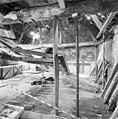 Interieur eerste verdieping, hoofdruimte met ingestorte zoldering - Bergen op Zoom - 20330366 - RCE.jpg