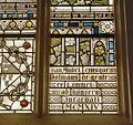Interieur transept, detail glas in loodraam met jaartal 1914 - Maastricht - 20328487 - RCE.jpg