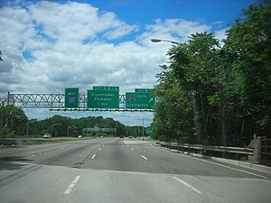 Interstate 280 (New Jersey) - Image: Interstate 280 New Jersey west at CR 527 south