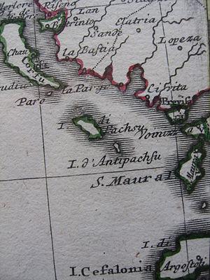 Ionian Islands under Venetian rule - Venetian possessions in the Ionian Sea area