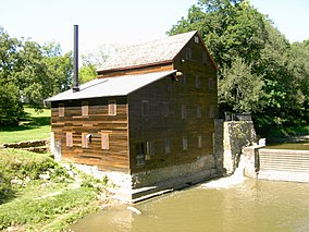 Iowa Wildcat Den State Park (Pine Creek Grist Mill - 1848), Muscatine County September 1, 2014.JPG