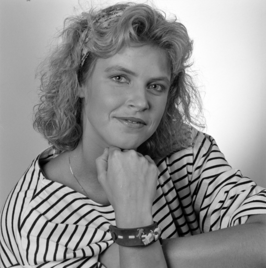 Irene Moors in 1989