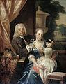 Isaac Parker, zijn echtgenote Justina Johanna Ramskrammer en hun zoontje Willem Alexander Rijksmuseum SK-A-1649.jpeg