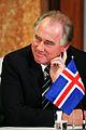 Islands statsminister, Halldor Asgrimsson under presskonferens vid Nordiska radets session i Stockholm.jpg