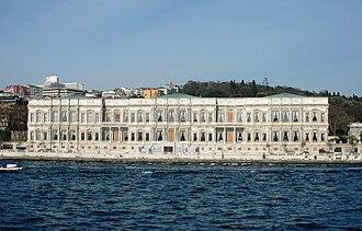 Çırağan Palace - Image: Istanbul Palau de Çırağan