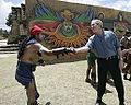 Iximche George W Bush Handshake.jpg