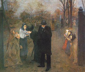 János Thorma - Image: János Thorma (1870 1937) Suffering People (1892)