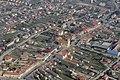 Jánossomorja központja légi felvételeken.jpg