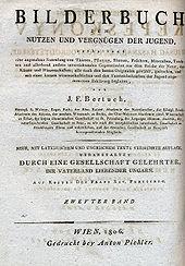 J. F. Bertuch Kinderbuch (Quelle: Wikimedia)