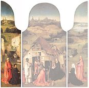 J. Bosch Adoration of the Magi Triptych (left panel).jpg