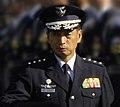JASDF General Toshio Tamogami 田母神俊雄空将 (Norton A Schwartz Peter Mask and Toshio Tamogami 20080819).jpg