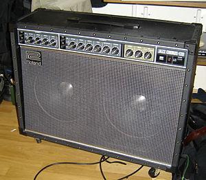 Roland Jazz Chorus - A Roland Jazz Chorus 120 amplifier.