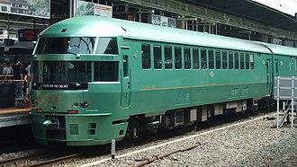 Yufuin no Mori - Image: JR Kyushu DMU kiha 72 4