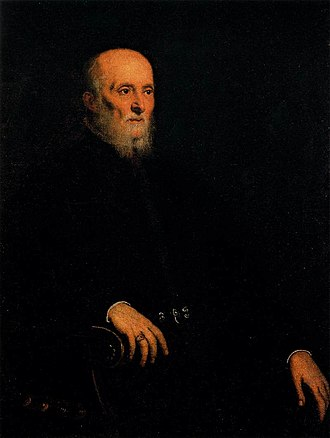 Portrait of Alvise Cornaro - Portrait of Alvise Cornaro