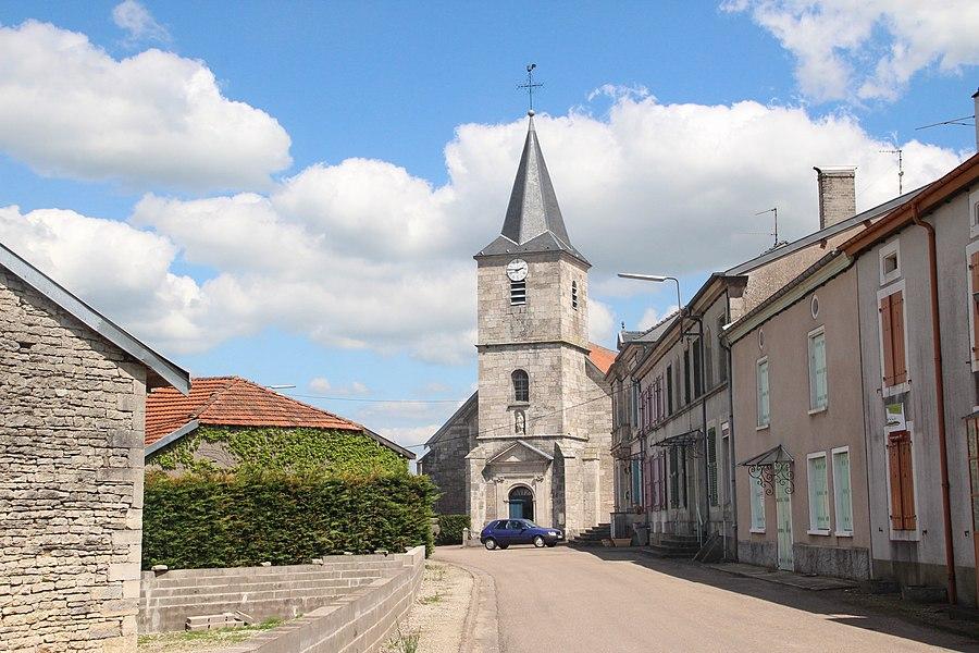 Jakobsweg by Niederkasseler   France ---        Kirche Dainville Bertheleville