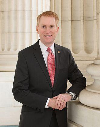 James Lankford - Image: James Lankford official Senate photo