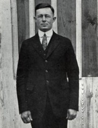 James W. St. Clair - St. Clair pictured in The Yucca 1922, North Texas State Normal yearbook