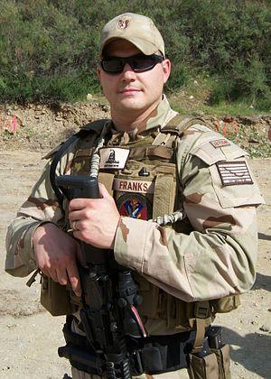 Jamie Franks (professional shooter) - Image: Jamie franks navy