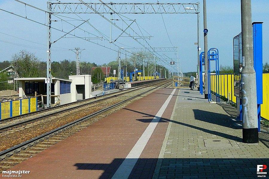 Janówek railway station