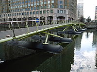 West India Quay Bridge