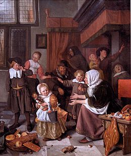 Sint Nicolaasfeest Rijksmuseum.Het Sint Nicolaasfeest Wikipedia