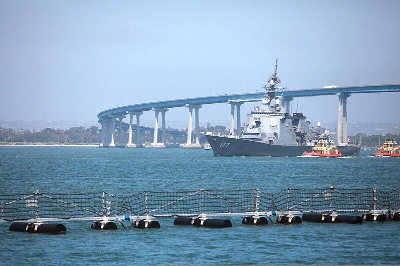 San Diego Naval Base Boat Tour