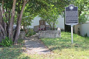 Jarrell, Texas - Historic plaque in Jarrell