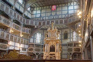 Evangelical Church of the Augsburg Confession in Poland -  Lutheran Church of Peace in Jawor- UNESCO World Heritage Site