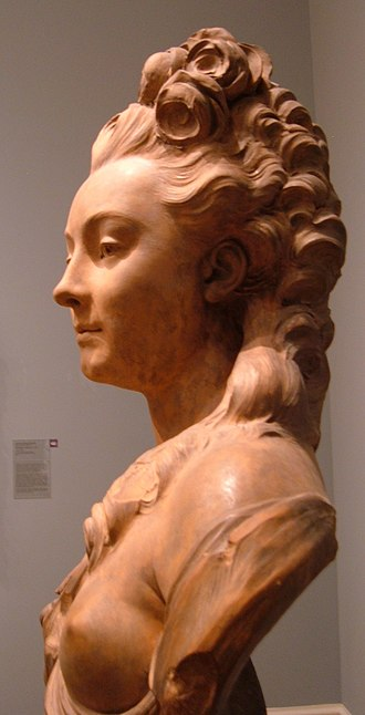 Jean-Jacques Caffieri - Image: Jean Jacques Caffieri Portrait bust of a young woman CPLH 1927.211 left side