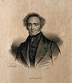 Jean Cruveilhier. Lithograph by N. E. Maurin. Wellcome V0001367.jpg