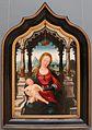Jean bellegambe, pannello centrale di un trittico con la madonna col bambino, 01.JPG