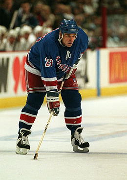 Description de l'image  Jeff Beukeboom NY Rangers Vancouver 1997.jpg.