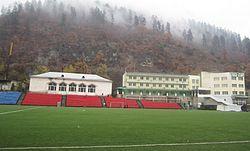 Jemal Zeinklishvili Stadium in Borjomi, Georgia.jpg