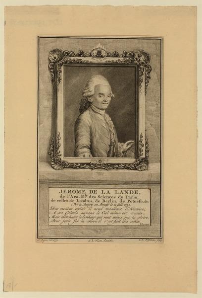 File:Jerome de La Lande, de l'Aca. rle. des sciences de Paris, de celles de Londres, de Berlin, de Petersb., etc. Né ... 1732 LCCN2002724834.tif