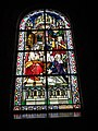 Jeumont (Nord, Fr) Église St.Martin, vitrail 10 Marthe et Marie.JPG