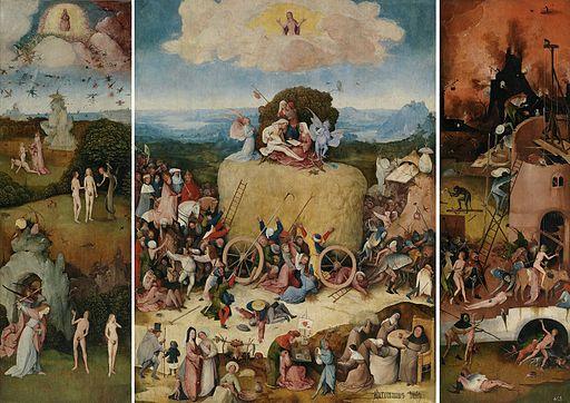 Jheronimus Bosch - De hooiwagen (c.1516, Prado)
