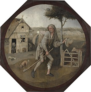 Painting by Hieronymus Bosch