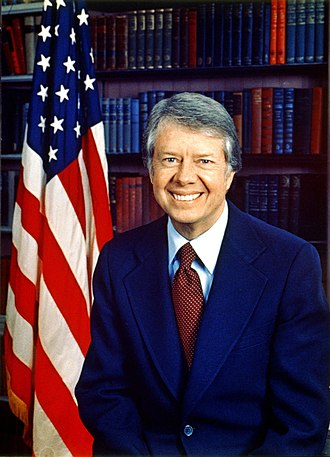 Elections in Georgia (U.S. state) - Jimmy Carter, a politician from Plains and a descendant of Confederate veterans who was elected to the Georgia State Senate twice and later served a term as Governor of Georgia, became the 39th President of the United States after winning the election of 1976.