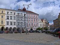 Jindrichuv Hradec-square3.JPG