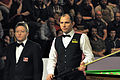 Joe Perry and Thorsten Müller at Snooker German Masters (Martin Rulsch) 2014-01-29 01.jpg