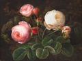 Johan Laurentz Jensen - Lyserøde og hvide roser.png