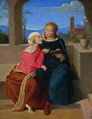 Johann Evangelist Scheffer von Leonhardshoff - Andachtsstunde - 3339 - Österreichische Galerie Belvedere.jpg